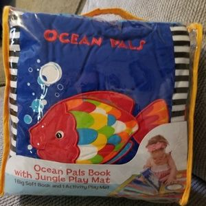 Ocean pals book with ocean playmat